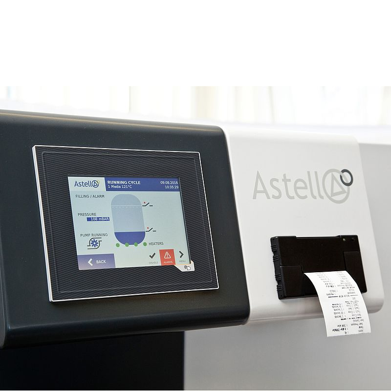"""5.7"""" touchscreen controller with optional printer"""