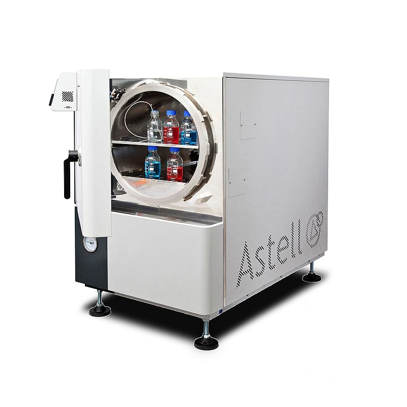 THE ASTELL 120 - 344 LITER FRONT LOADING AUTOCLAVE RANGE