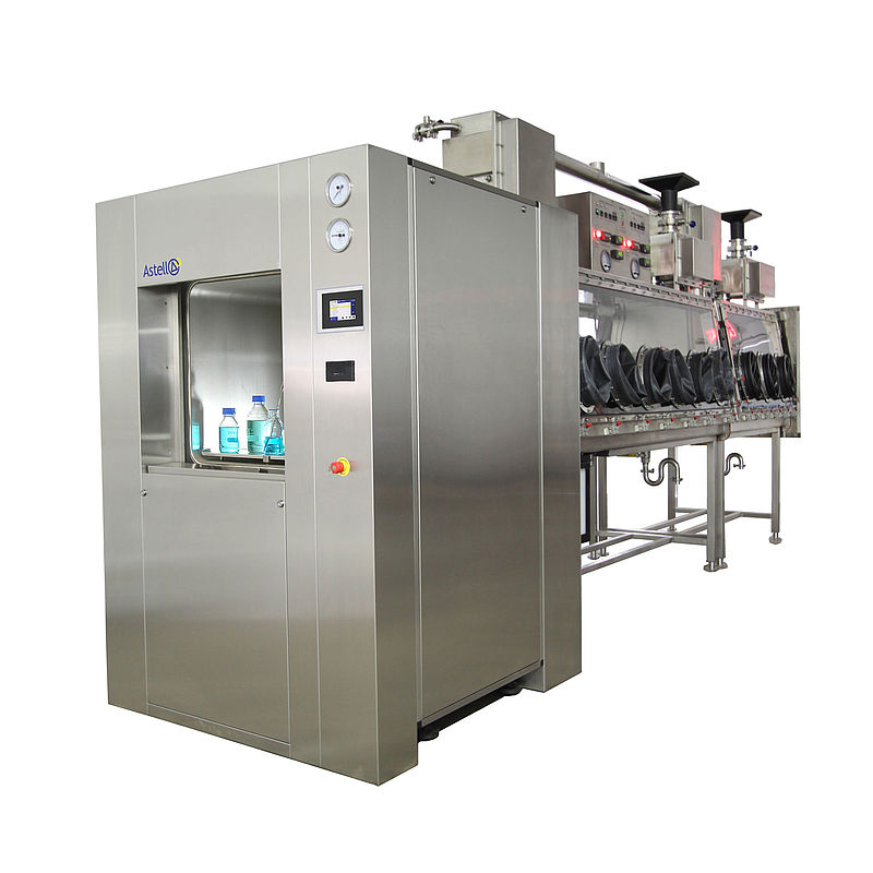 THE ASTELL 250 - 1,200 LITER DOUBLE DOOR SQUARE AUTOCLAVE RANGE