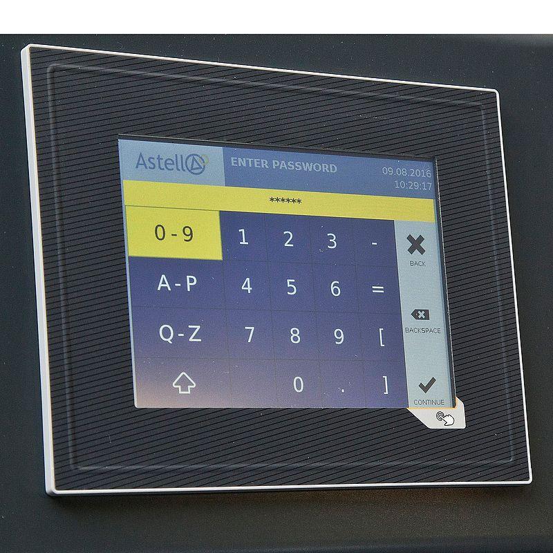 """5.7"""" color touchscreen controller"""