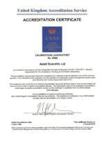 UKAS ISO 17025:2017 CERTIFICATE (213 KB)