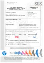 PED (PRESSURE EQUIPMENT DIRECTIVE CERTIFICATE 2014/68/EU) (324 KB)